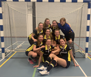 Dames 1 na winst op Forescate