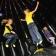 Dansen in het discospringkussen van Kidsjumping